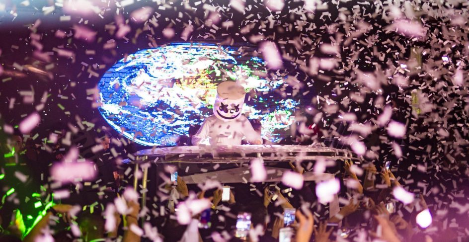 YOUR WEEKEND WARM UP: Marshmello