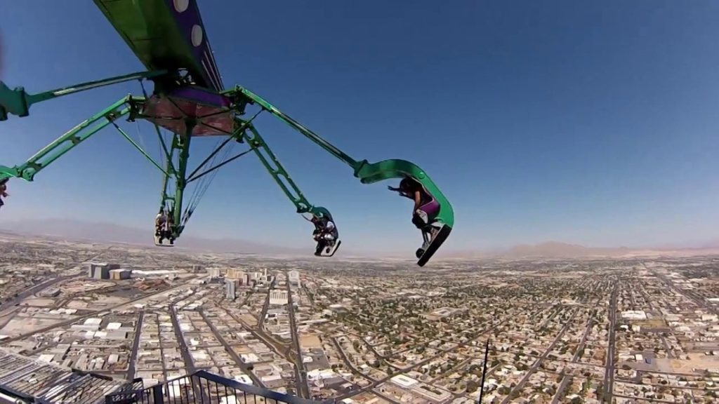 Jumping Off the Stratosphere Tower