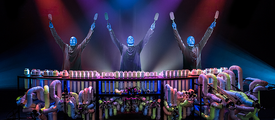 Blue Man Group Is A Must See Show In Vegas