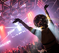 DJ party Exodus Las Vegas