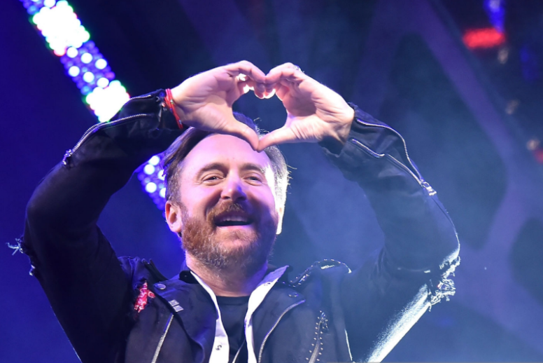 David Guetta performs in Las Vegas