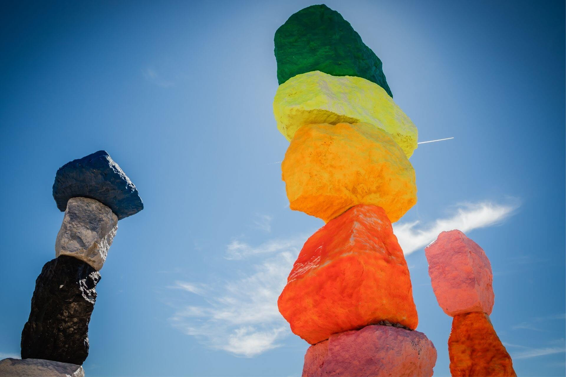 The Seven Magic Mountains In Nevada